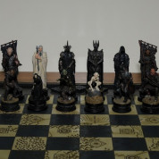 LOTR Chess Set – Black Army